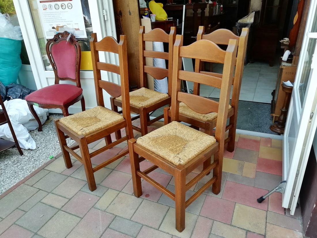 CC06 4 db tölgyfa szék 9.900ft/db